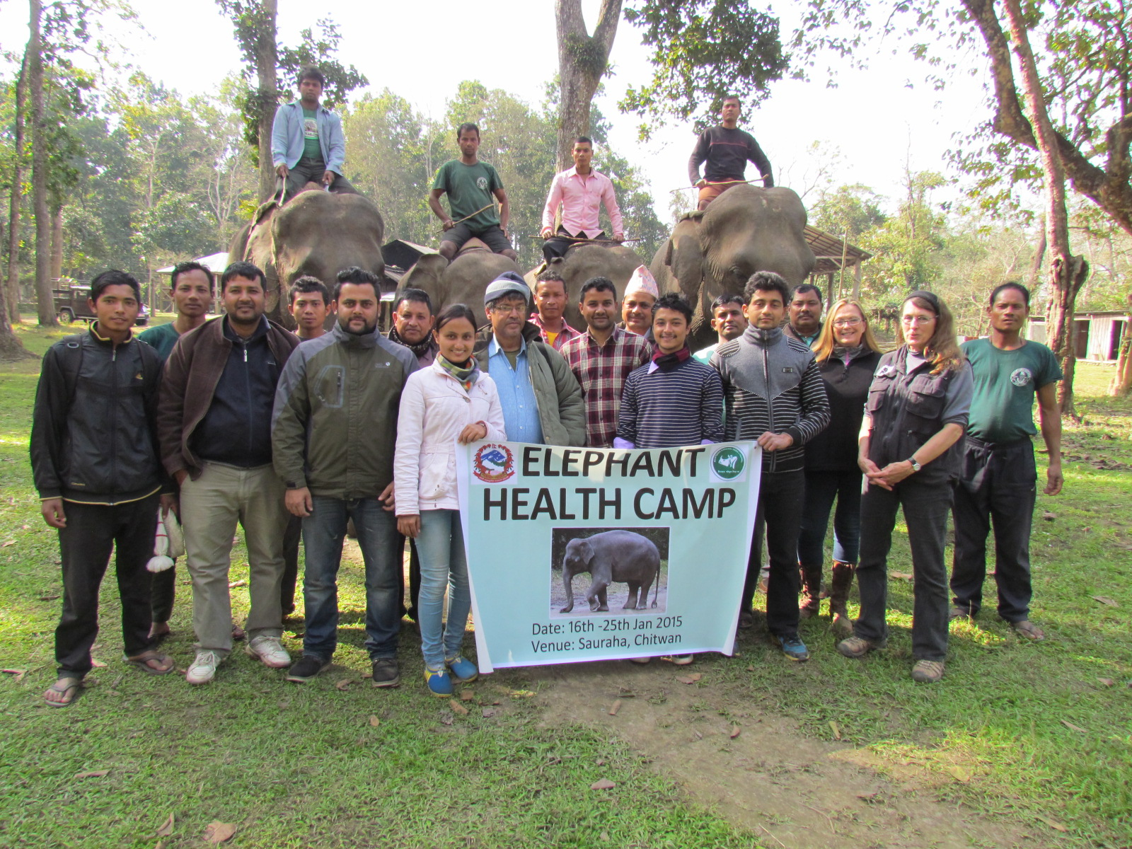 ECI Elephant Workshop Chitwan, Nepal