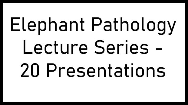 Elephant Pathology Lectures